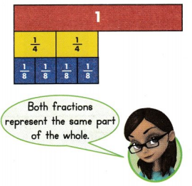 Envision Math Common Core 3rd Grade Answer Key Topic 13 Fraction Equivalence and Comparison 19