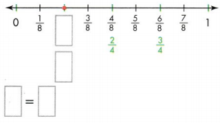 Envision Math Common Core 3rd Grade Answer Key Topic 13 Fraction Equivalence and Comparison 28