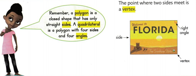 Envision Math Common Core 3rd Grade Answer Key Topic 15 Attributes of Two-Dimensional Shapes 15