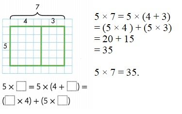 Envision-Math-Common-Core-3rd-Grade-Answers-Key-Topic-6-Connect-Area-to-Multiplication-and-Addition-Lesson-6.5-Apply-Properties-Area-and-the-Distributive-Property-Question-4