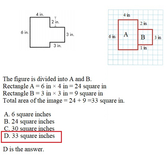 Envision-Math-Common-Core-3rd-Grade-Answers-Key-Topic-6-Connect-Area-to-Multiplication-and-Addition- Lesson-6.6-Apply-Properties-Area-of-Irregular-Shapes-Assessment-Practice-Question-13