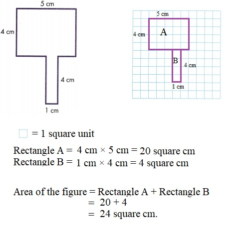 Envision-Math-Common-Core-3rd-Grade-Answers-Key-Topic-6-Connect-Area-to-Multiplication-and-Addition- Lesson-6.6-Apply-Properties-Area-of-Irregular-Shapes-Independent-Practice-Question-8