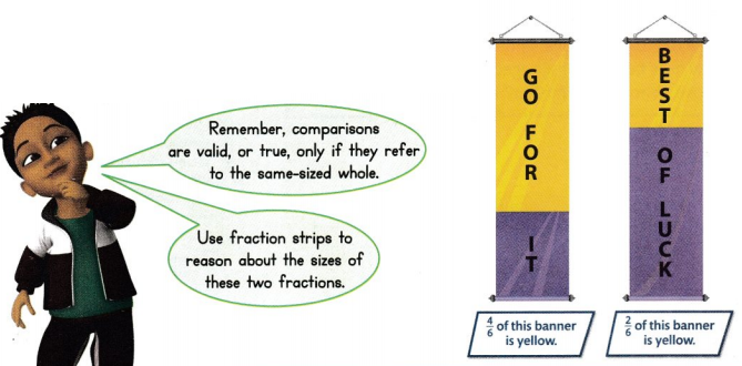 Envision Math Common Core 3rd Grade Answers Topic 13 Fraction Equivalence and Comparison 37