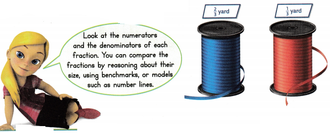 Envision Math Common Core 3rd Grade Answers Topic 13 Fraction Equivalence and Comparison 68
