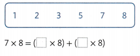 Envision Math Common Core 3rd Grade Answers Topic 3 Apply Propertie Multiplication Facts for 3, 4, 6, 7, 8 41