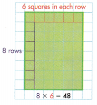 Envision Math Common Core 3rd Grade Answers Topic 6 Connect Area to Multiplication and Addition 54