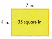 Envision Math Common Core 3rd Grade Answers Topic 6 Connect Area to Multiplication and Addition 61