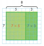 Envision Math Common Core 3rd Grade Answers Topic 6 Connect Area to Multiplication and Addition 66