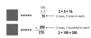 Envision-Math-Common-Core-4th-Grade-Answers-Key-Topic-3-Use-Strategies-and-Properties-to-Multiply-by-1-Lesson 3.3 Use Arrays and Partial Products to Multiply-Independent Practice-5