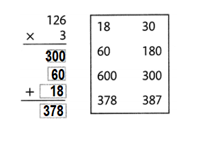 Envision-Math-Common-Core-4th-Grade-Answers-Key-Topic-3-Use-Strategies-and-Properties-to-Multiply-by-1-Lesson 3.8 Problem Solving-Topic 3 Assessment Practice-1