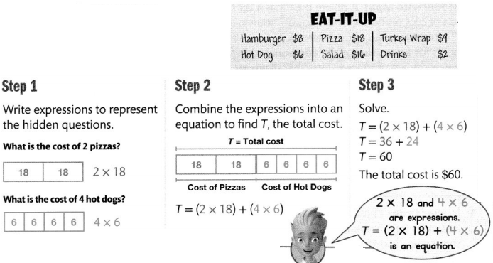 Envision Math Common Core 4th Grade Answers Topic 6 Use Operations with Whole Numbers to Solve Problems 21