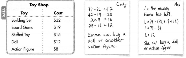 Envision Math Common Core 4th Grade Answers Topic 6 Use Operations with Whole Numbers to Solve Problems 27
