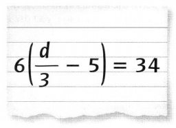 Envision Math Common Core 7th Grade Answers Topic 5 Solve Problems Using Equations and Inequalities 7.21