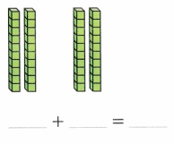 Envision Math Common Core Grade 1 Answer Key Topic 10 Use Models and Strategies to Add Tens and Ones 11