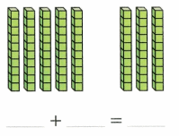 Envision Math Common Core Grade 1 Answer Key Topic 10 Use Models and Strategies to Add Tens and Ones 12