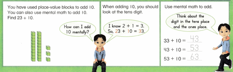 Envision Math Common Core Grade 1 Answer Key Topic 10 Use Models and Strategies to Add Tens and Ones 22