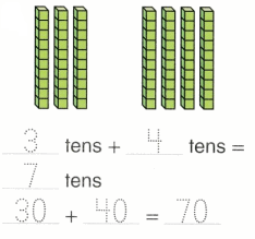 Envision Math Common Core Grade 1 Answer Key Topic 10 Use Models and Strategies to Add Tens and Ones 9