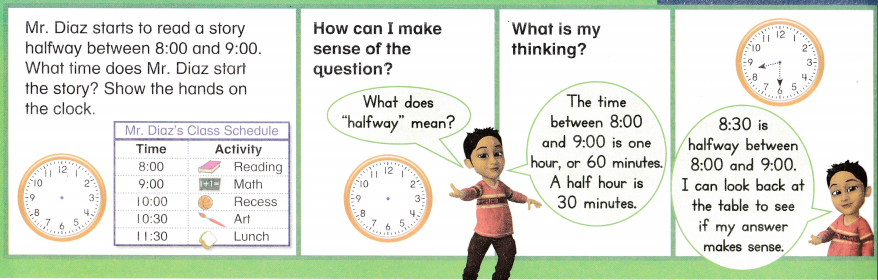 Envision Math Common Core Grade 1 Answer Key Topic 13 Time and Money 76
