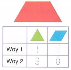 Envision Math Common Core Grade 1 Answer Key Topic 14 Reason with Shapes and Their Attributes 93