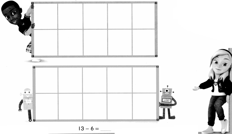 Envision Math Common Core Grade 1 Answer Key Topic 4 Subtraction Facts to 20 Use Strategies 6.25
