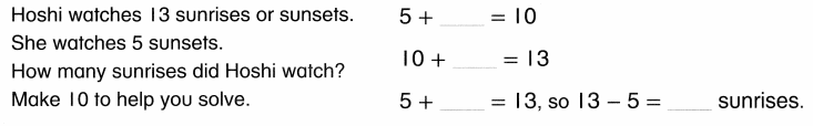 Envision Math Common Core Grade 1 Answer Key Topic 4 Subtraction Facts to 20 Use Strategies 6.32