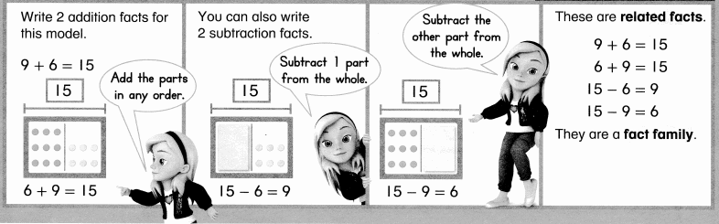 Envision Math Common Core Grade 1 Answer Key Topic 4 Subtraction Facts to 20 Use Strategies 6.38