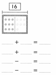 Envision Math Common Core Grade 1 Answer Key Topic 4 Subtraction Facts to 20 Use Strategies 6.40