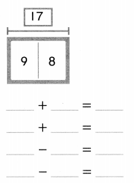 Envision Math Common Core Grade 1 Answer Key Topic 4 Subtraction Facts to 20 Use Strategies 6.41