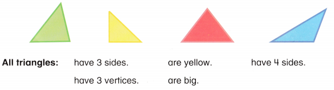 Envision Math Common Core Grade 1 Answers Topic 14 Reason with Shapes and Their Attributes 111