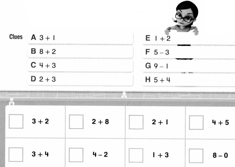 Envision Math Common Core Grade 1 Answers Topic 2 Fluently Add and Subtract Within 10 5.12