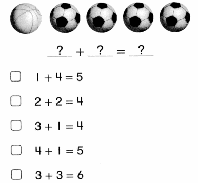 Envision Math Common Core Grade 1 Answers Topic 2 Fluently Add and Subtract Within 10 5.45