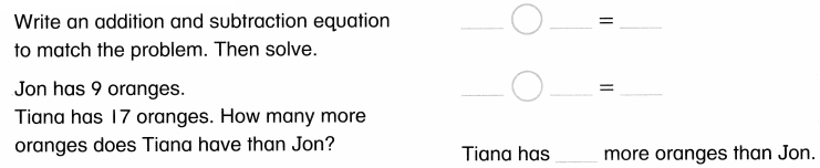 Envision Math Common Core Grade 1 Answers Topic 4 Subtraction Facts to 20 Use Strategies 8.27