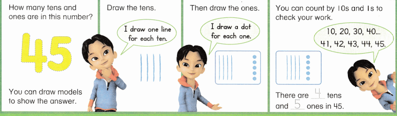 Envision Math Common Core Grade 1 Answers Topic 8 Understand Place Value 6.14
