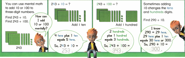Envision Math Common Core Grade 2 Answer Key Topic 10 Add Within 1,000 Using Models and Strategies 5.7
