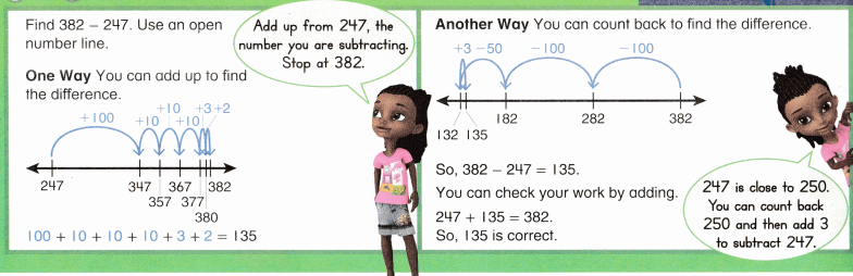 Envision Math Common Core Grade 2 Answer Key Topic 11 Subtract Within 1,000 Using Models and Strategies 16.3
