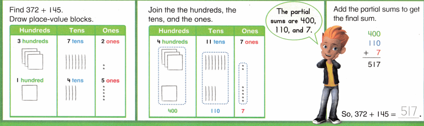 Envision Math Common Core Grade 2 Answers Topic 10 Add Within 1,000 Using Models and Strategies 8.15