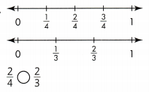 Envision Math Common Core Grade 3 Answer Key Topic 13 Fraction Equivalence and Comparison 70