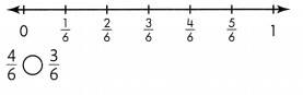 Envision Math Common Core Grade 3 Answer Key Topic 13 Fraction Equivalence and Comparison 74