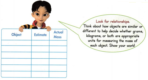 Envision Math Common Core Grade 3 Answer Key Topic 14 Solve Time, Capacity, and Mass Problems 76
