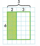 Envision Math Common Core Grade 3 Answer Key Topic 6 Connect Area to Multiplication and Addition 116