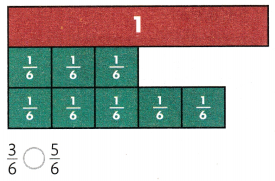 Envision Math Common Core Grade 3 Answers Topic 13 Fraction Equivalence and Comparison 108