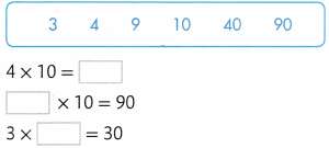 Envision Math Common Core Grade 3 Answers Topic 2 Multiplication Facts Use Patterns 90.7