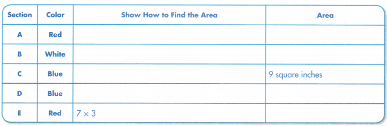 Envision Math Common Core Grade 3 Answers Topic 6 Connect Area to Multiplication and Addition 143