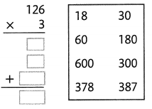 Envision Math Common Core Grade 4 Answers Topic 3 Use Strategies and Properties to Multiply by 1-Digit Numbers 106