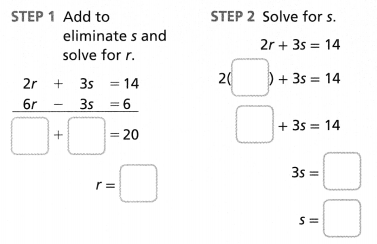 Envision Math Common Core Grade 8 Answer Key Topic 5 Analyze And Solve Systems Of Linear Equations 34
