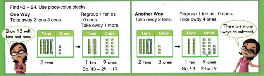 Envision Math Common Core 2nd Grade Answer Key Topic 6 Fluently Subtract. Within 100 16