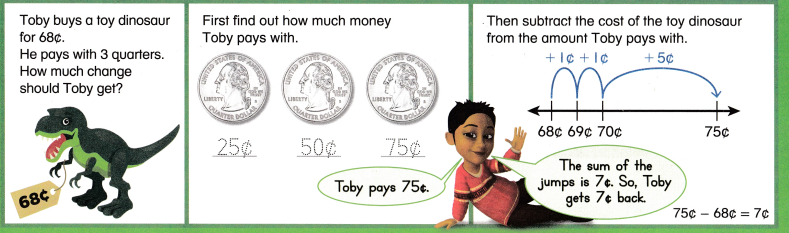Envision Math Common Core 2nd Grade Answer Key Topic 8 Work with Time and Money 21