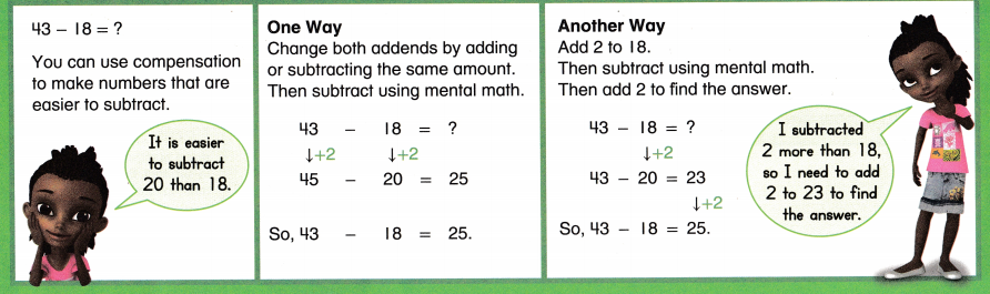 Envision Math Common Core 2nd Grade Answers Topic 5 Subtract Within 100 Using Strategies 41