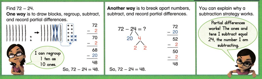 Envision Math Common Core 2nd Grade Answers Topic 6 Fluently Subtract. Within 100 33