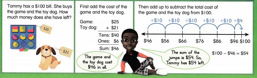 Envision Math Common Core 2nd Grade Answers Topic 8 Work with Time and Money 35